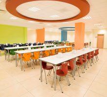 Monoblok Sandalyeli Yemekhane Masa Takımı