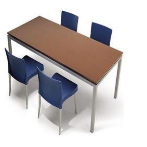 Plastik Sandalyeli Yemekhane Masa Takımı (2)