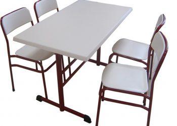 Werzalit Sandalyeli Yemekhane Masa Takımı