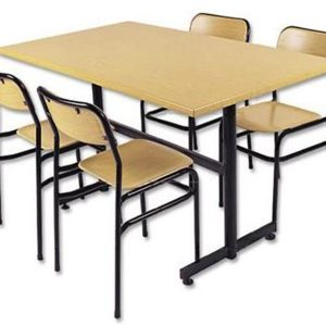Werzalit Sandalyeli Yemekhane Masa Takımı2